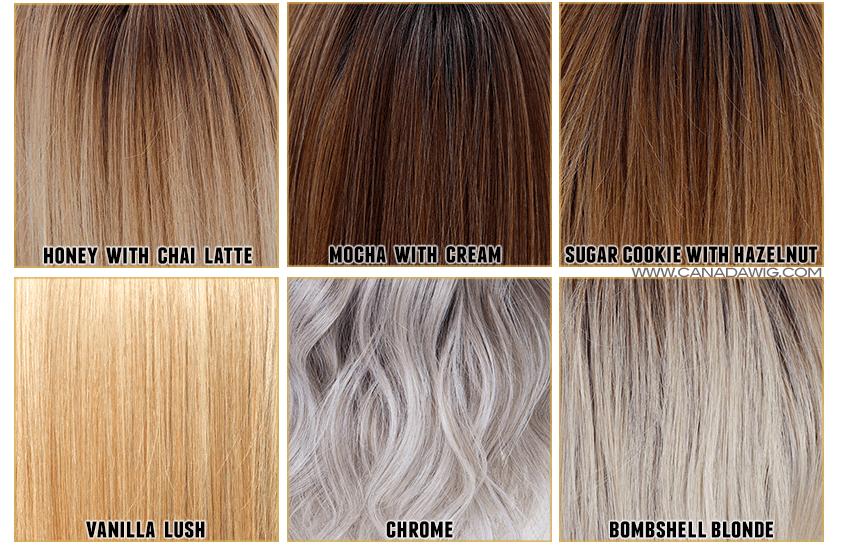 kolory peruk